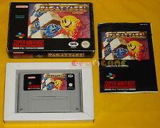 PAC ATTACK Super Nintendo Snes Versione PAL Italiana Pac-Attack ○○○○○ COMPLETO