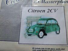CITROEN 2CV Counted Cross Stitch Kit