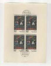 Czechoslovakia, Postage Stamp, #1810 Used Sheet, 1972