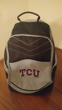 Official TCU Logo SCHOOL BACKPACK, Texas Christian University Computer Backpack