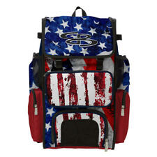 Boombah Superpack Baseball/Softball Bat Bag Pack/Backpack - Usa/Patriot Series