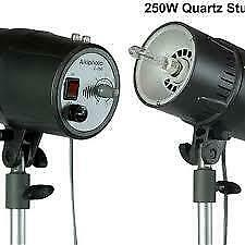STUDIO FLASH C-250 STROBE LIGHT 250W/S MONOLIGHT AIKIPHOTO Photo DSLR SLR **EX**