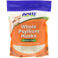 Now Foods  Whole Psyllium Husks  16 oz  454 g