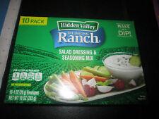 Hidden Valley Original Ranch Salad Dressing & Seasoning Mix 10-1 Ounce Envelopes