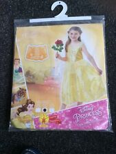 Disney Princess Belle from Beauty and the Beast dressing up costume 5-6