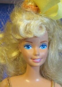 Mattel 1988 My First Barbie Vintage Doll Easy To Dress