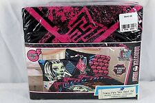 Monster High Scary Cute Twin Sheet Set Cotton Rich