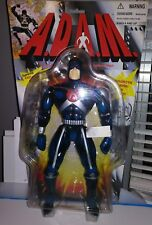 "Rare A.D.A.M. ADAM Atomic DNA Actualized Man vtg 10"" action figure 1997 toy G1 9"