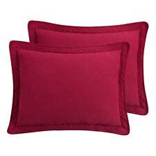 "Williamsburg Richmond Matelasse King Pillow Sham 20"" x 36"" - Red - Only 1 Sham"