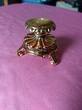 House Of Faberge 3 Footed Egg Stand Base Gold Holder Ornate Display