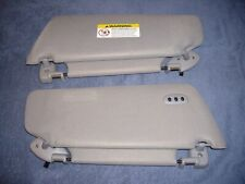 1997 - 2002 Ford Expedition Graphite Gray Dual Lighted Sunvisor Set w / Homelink