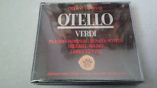 "CD ""VERDI OTELLO"" 2CD  JAMES LEVINE PLACIDO DOMINGO RENATA SCOTTO MILNES"