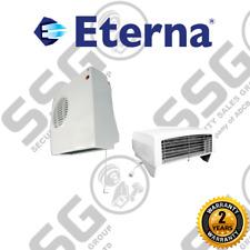 Eterna DFH2KW - 2Kw Adjustable Down Flow White Heater - Small/Medium Bathrooms