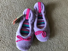 Womens Slippers Acorn All Around Ballet US Womens Size 5-6 Lavender