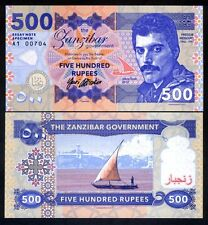 Zanzibar, 500 Rupees, 2017, Private Issue / Essay UNC - Freddie Mercury