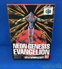 NINTENDO 64 Video Game soft Neon Genesis EVANGELION BANDAI 1999 Japan Used