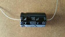 Valve Tube Radio 10x MIEC 16uf 600-volt electrolytic capacitors. 650 v surge .
