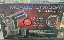 Meade Etx-60At Digital Refractor Telescope With Magnifying Capability