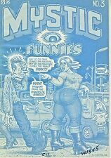 MYSTIC FUNNIES #3 (2002) R. CRUMB 1-of A KIND GRAIL FANTAGRAPHICS BLUELINES
