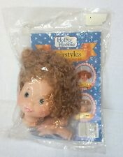 Holly Hobbie Hairstyles Doll Head And Hands #55000 Doll Making Parts 1991 NIP