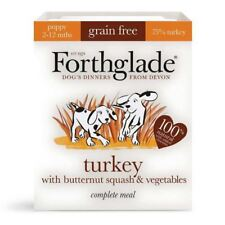 4x Forthglade Complete Puppy Turkey, Butternut Squash & Veg Grain Free 395g