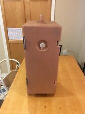 VINTAGE Cambro Food Carrier 120PMC Army Brown EUC