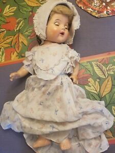 Horsman composition Baby Doll Vintage 20 Inch, Cute, 1930s/1940s
