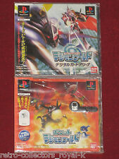 *New & Sealed* PS1 POCKET DIGIMON WORLD + DIGITAL CARD ARENA NTSC-J Japan