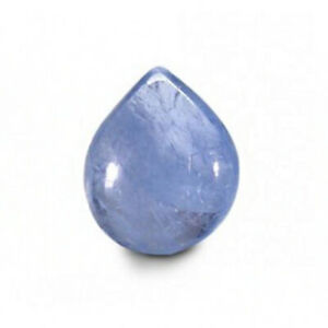 Loose Gemstone 100% Natural Certified 3 Ct Myanmar (Burma) Pear Blue Sapphire