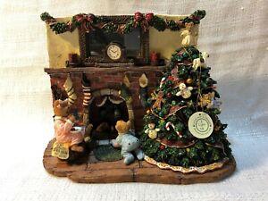 Boyds Bear Bearstone Twas The Night Before Christmas 1E Figurine 27614