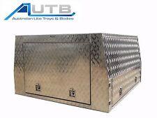 Aluminium Ute Canopy LIFTOFF 1800mm L X 1800mm W - 3 Door 2.5mm Checkerplate