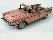 1957 57 Chevy Nomad Car Convertible Automobile Belair 1:10 Carousel Pink Sale