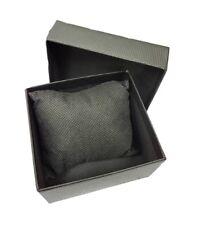 Cofanetto Scatola Box Confezione Astuccio Cuscino Orologio Bracciale Nera lac