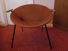 """Hans olsen """"Balloon"""" vintage de gamuza sillón cóctel Lounge 60"""