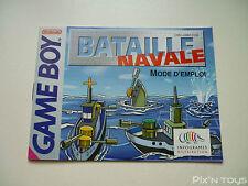 ►►►► NINTENDO GAME BOY / Notice, Instruction / Bataille Navale [ DMG-AB8F-FRA ]