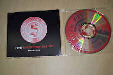 Five ‎– Everybody Get Up. CD-Single promo (CP1710)