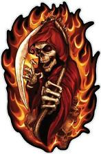 FLAMING REAPER - DECAL 190mm x 130mm - DECAL
