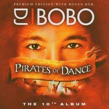 DJ Bobo Pirates of Dance (2005, CD/DVD) [CD DOPPIO]
