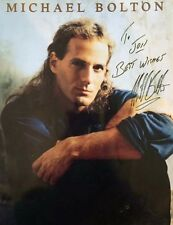 MICHAEL BOLTON (1991 TOUR PROGRAMME) SIGNED AUTOGRAPH
