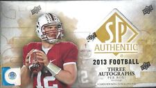 2013 SP Authentic Factory Sealed Football Hobby Box  Le'Veon Bell AUTO RC ??