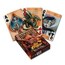 Anne Stokes Age Of Dragon Bicycle Playing Cards Poker Deck Gothic Gift UK Seller