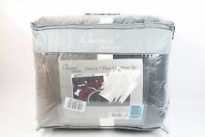 Chezmoi Collection 7-Piece Quilted Patchwork C Upland-Com-Burgundy- - New Other