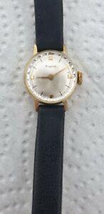Dugena Uhr Geneva Damen 585 Gold 14K
