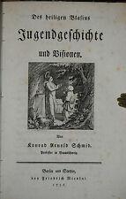 Schmid-del sacro Blasius gioventù storia e visioni - 1786