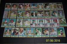 1976 Topps NEW YORK METS Complete Set of 35 Cards TOM SEAVER Jerry Grote Koosman