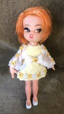 "Vintage 1965 Hasbro Dolly Darling 4"" Doll"
