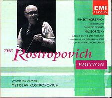 Rostropovich: Rimsky-Korsakov Sherazade Mussorgsky Night on Bare Mountain CD