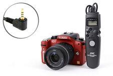 Kabel Fernauslöser mit Timer passt zu Panasonic FZ100 FZ150 G1 G2 G3 G1...