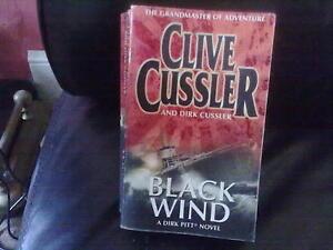 Black Wind-Clive Cussler Paperback English Genre Fiction Penguin 2005