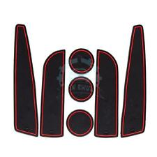 Red Line Auto Coasters For MINI Cooper R55 2007-2013 Cup Holders Side Door Mats